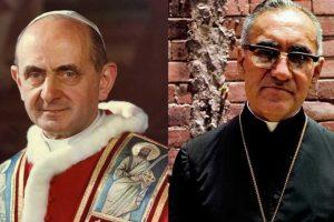 Canonización de Pablo VI y Oscar Romero