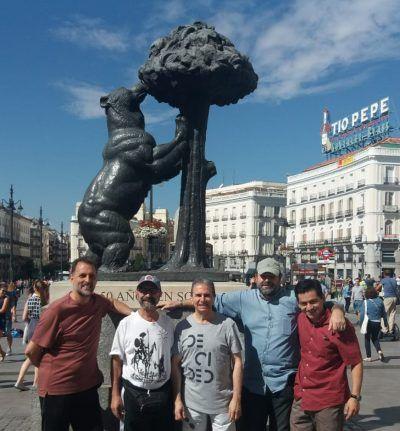 La comunidad de Misioneros del Espíritu Santo en la Puerta del Sol.