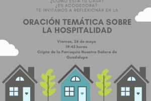 Oración temática sobre Hospitalidad