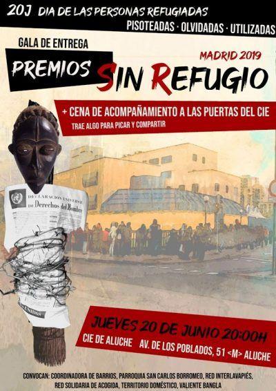 """Cartel premios """"Sin Refugio"""""""