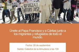 Marcha solidaria con migrantes y refugiados. 28 de septiembre