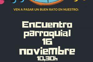 Encuentro Parroquial  #16 noviembre