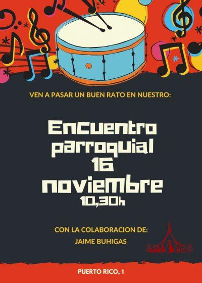 Encuentro Parroquial 16 de noviembre