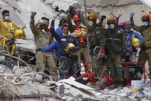 Solidaridad con el terremoto de México