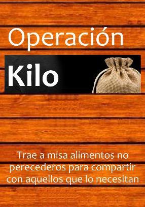 Operación kilo @ Parroquia
