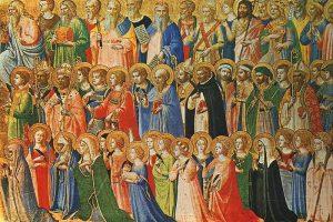 Festividad de Todos los Santos. 1 noviembre