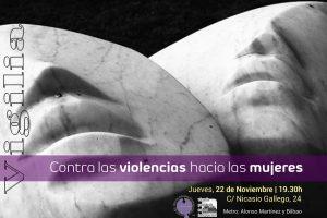 25N Día Internacional de la Eliminación de la Violencia contra la Mujer
